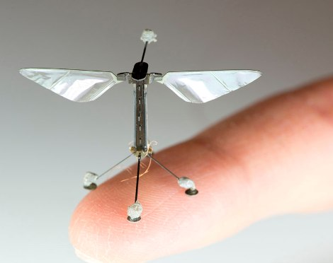 Bioinspired Mircorobots with Robotic and Bees