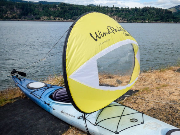 Kayak Sails with Peddling