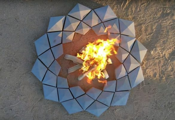 3D Printing Concrete Firepit