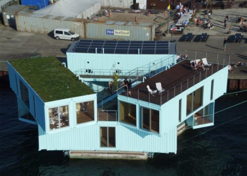Floating Housing for Student