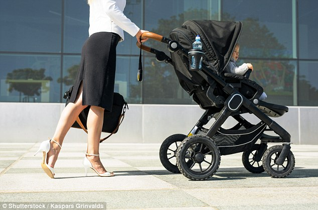 Babies in the prams can be exposed to pollutions